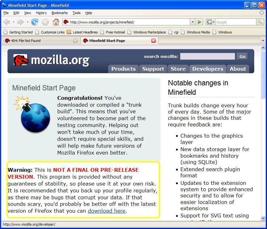 Firefox 3 Installer for Halevi-Krawczyk Hash
