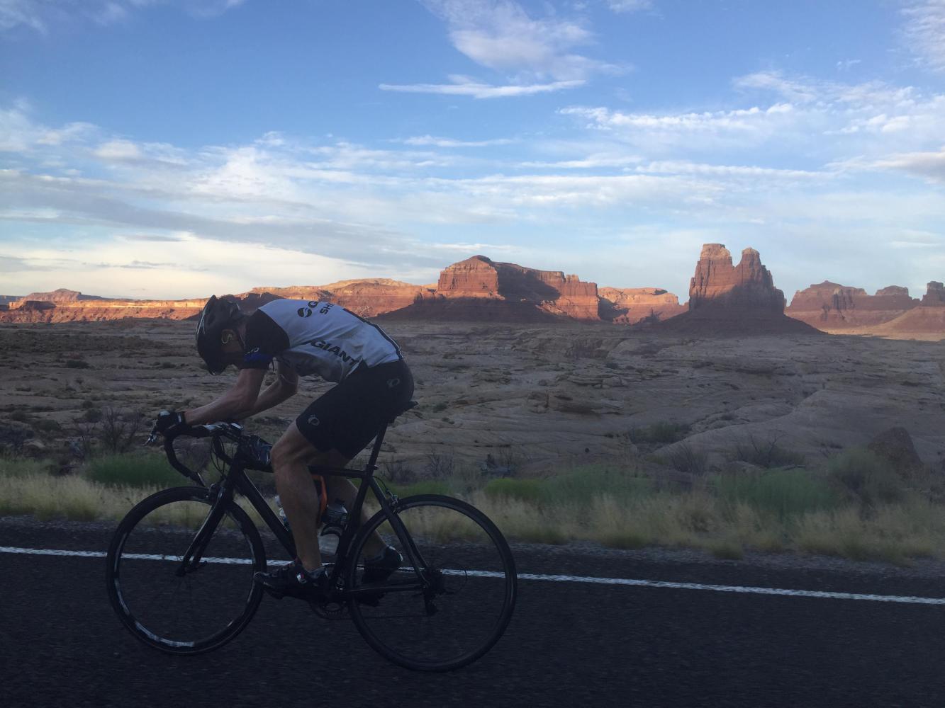 A biking picture